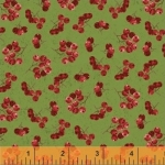 BAUM TEXTILES - Noel - Green Holly Berries - SB322