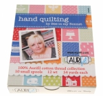Aurifil - Hand Quilting By Bee In My Bonnet 10 Small Spools Cotton 12wt