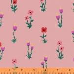 BAUM TEXTILES - Meriwether - Pink Folk Fleur - FB7058