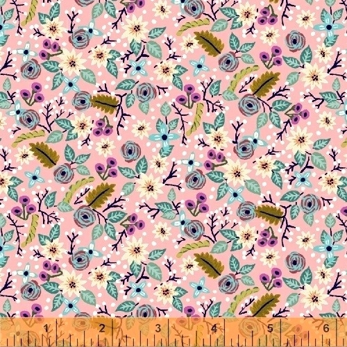 BAUM TEXTILES - Meriwether - Pink High Meadow