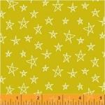 BAUM TEXTILES - Notepad - Yellow Stars - FB7043