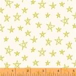 BAUM TEXTILES - Notepad - White Stars - FB7041