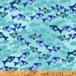 WINDHAM FABRICS - Coral Reef - Fish - FB7076