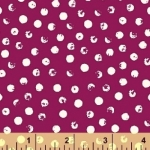 BAUM TEXTILES - Clever Dots - Purple #246