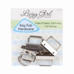Key Fob Hardware Refill by Lazy Girl Designs