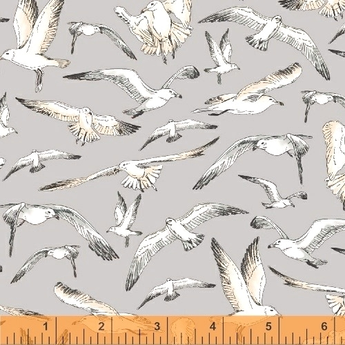 BAUM TEXTILES - Hightide - Seagulls - FB7065