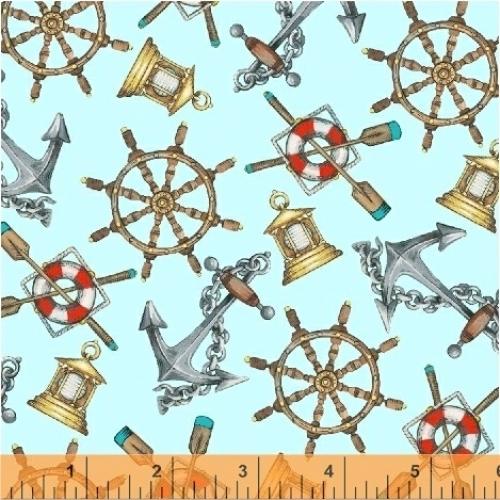 BAUM TEXTILES - Hightide - Nautical - FB7061