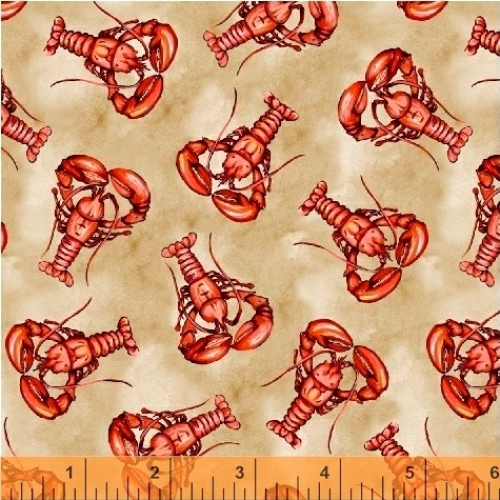 BAUM TEXTILES - Hightide - Lobsters - FB7062