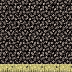 BAUM TEXTILES - Meadow - Black Floral - #1973-