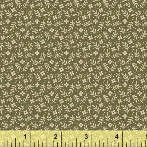 BAUM TEXTILES - Meadow - Green Floral