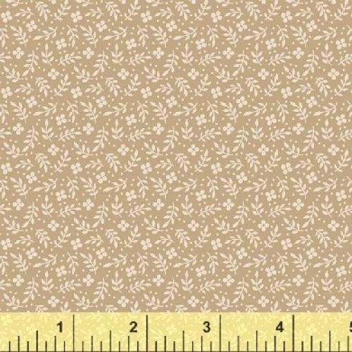 BAUM TEXTILES - Meadow - Tan Floral