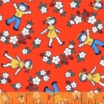 WINDHAM FABRICS - Bonvoyage - Strawberry Field - 42863-3 - FB7046