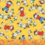WINDHAM FABRICS - Bonvoyage - Strawberry Field - 42863-6 - FB7045