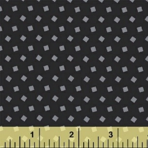 BAUM TEXTILES - Sprinkle - Black - FB7037