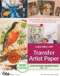 Transfer Artist Paper TAP  5 pack by Lesley Riley