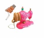USB 16GB - Pink Antique Sewing Machine