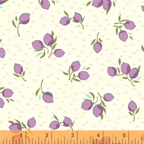 BAUM TEXTILES - Hello Jane - Purple Fruit - FB7038A