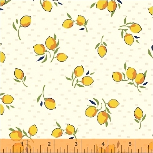 BAUM TEXTILES - Hello Jane - Yellow Fruit - FB7038B