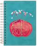 Wire Journal Pincushion - Sewing Mends the SOUL - Moda
