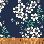BAUM TEXTILES - Sweet Florals - Blue Bouquet - FB7023