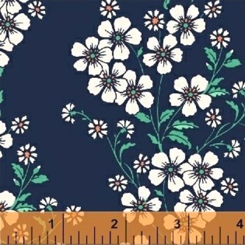 BAUM TEXTILES - Sweet Florals - Blue Bouquet - FB7023