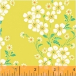 BAUM TEXTILES - Sweet Florals - Yellow Bouquet - FB7009