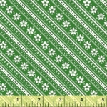 BAUM TEXTILES - Joy - Green Stripe - SB313