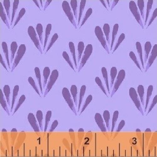 BAUM TEXTILES - Painted Wings - Purple Wings - FB7019