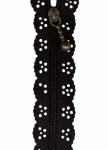 12 inch Little Lacie Zipper - Black