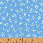 WINDHAM FABRICS - Going Steady - Floral Blue