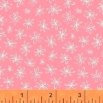 WINDHAM FABRICS - Going Steady - Floral Pink