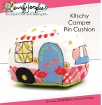 Kitschy Camper Pin Cushion Kit by Jennifer Jangles