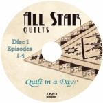 All Star Quilts DVD