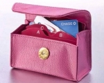 Card Cubby - Pink