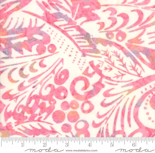 MODA FABRICS - Parfait Batiks - Strawberry Swirl - K1500- g