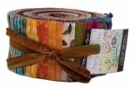 Parfait Batiks Jelly Roll by Parfait Batiks Moda Precuts