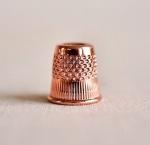 Premium Rose Gold Thimble - Small 15mm