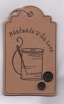Handcrafted Hang Tags - Spool and Needle