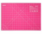 Olfa Pink Splash Companion Cutting Mat 12x18