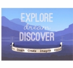 Quotable Cuffs - Explore Dream Discover