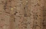 Cork Fabric 1 yard Natural with Gold Flecks