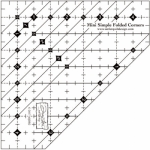 Mini Simple Folded Corners Ruler by Doug Leko