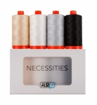 Aurifil - Necessities Thread Collection 50wt 4 Large Spools