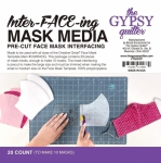 Inter-FACE-ing Mask Media 20 ct by The Gypsy Quilter