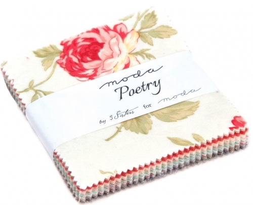 Poetry Prints Moda Treat by 3 Sisters Moda Precuts