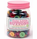Cute Little Buttons Jar 3 by Lori Holt of Bee in my Bonnet