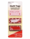 Quilt Tags with Love 9 piece Assortment