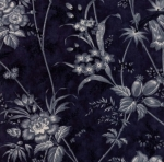 MODA FABRICS - Holly Woods - Midnight - Blue