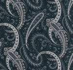 MODA FABRICS - Holly Woods - Midnight - Blue - #2655-
