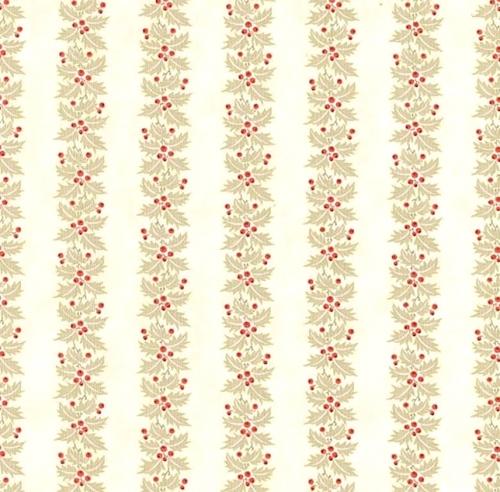 MODA FABRICS - Holly Woods- Snow Berry - #2649-